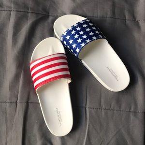 American flag slides